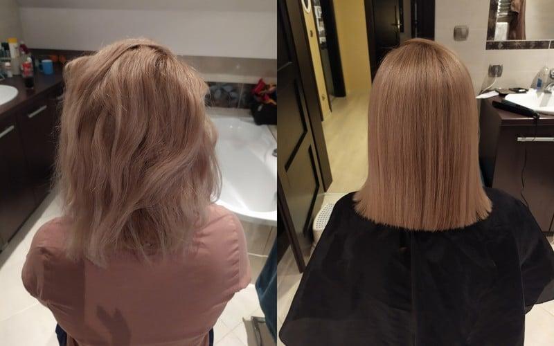 keratynowe prostowanie włosów ruda śląska, katowice